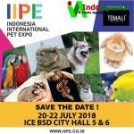 IIPE 2018 Hadirkan Beragam Binatang Peliharaan